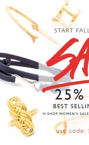 25% Off Best Selling Women's Styles!