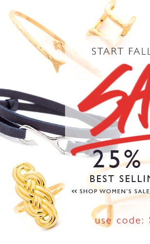 25% Off Best Selling Women's Styles!