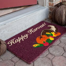 Come On In: Harvest Season Entryway