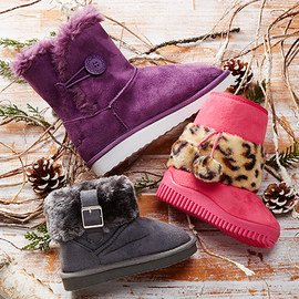 Shearling Style: Kids' Boots