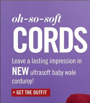 Baby Wale Corduroy Jacket and Pants