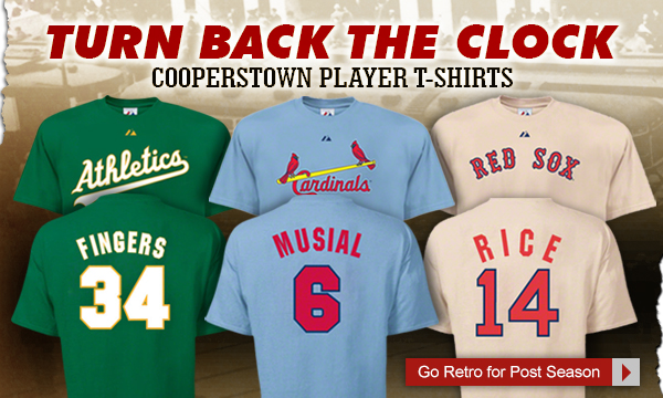 Cooperstown Player T-Shirts