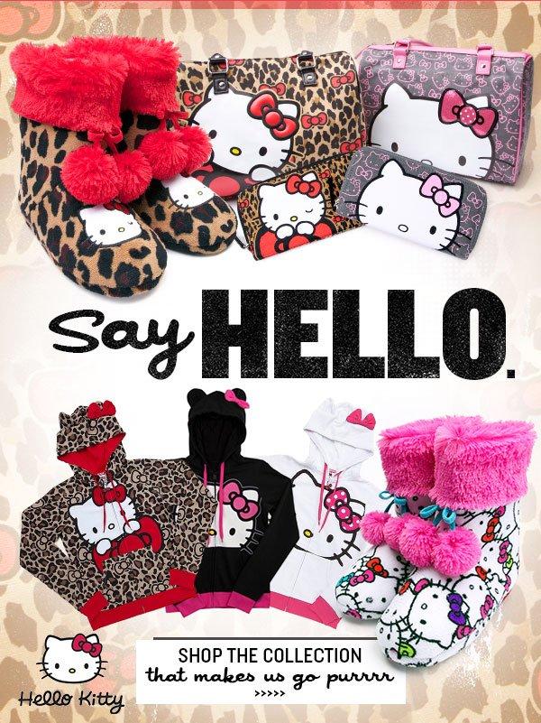 Say Hello to Hello Kitty!