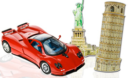 Board Games, Puzzles, Collectible Cars