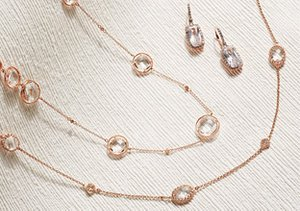 Sweet & On-Trend: Rose Gold Jewelry