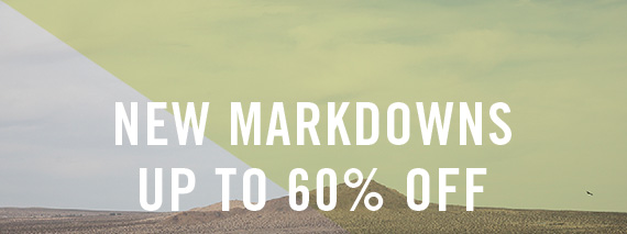 New Markdowns: Up To 60% Off