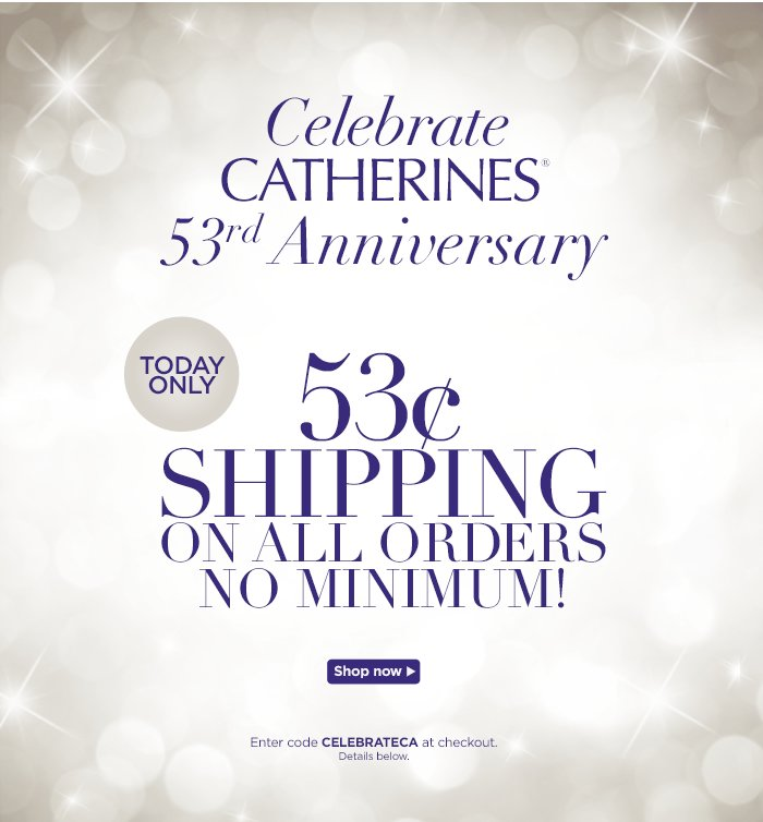 Celebrate Catherines 53rd Anniversary