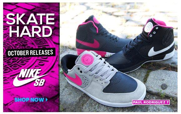 Nike SB October Releases. Skate Hard!