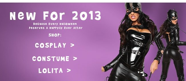 New For 2013 Because Every Halloween Deserves a Happyily Ever After Shop: