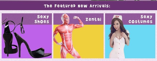 The Featured New Arrivals: