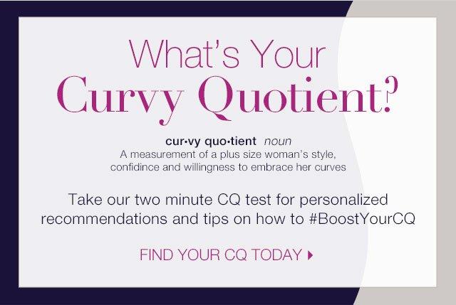 What's your curvy quotient