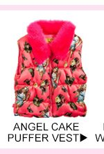 Shop Angel Cake Puffer Vest