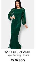 SYAIFUL BAHARIM FOR ZALORA Baju Kurung Pleats