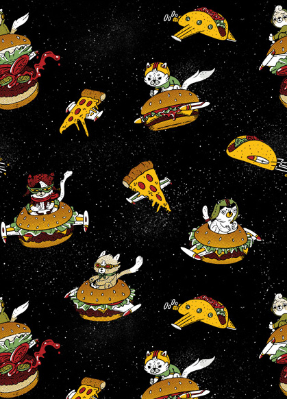 New Design - I Can Haz Cheeseburger Spaceships?