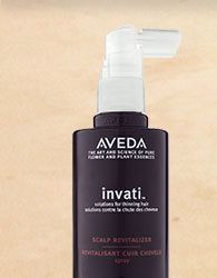 use me 2x a day. shop invati scalp revitalizer.