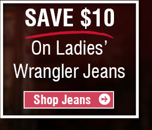 Save $10 On Ladies wrangler Jeans - Shop Jeans