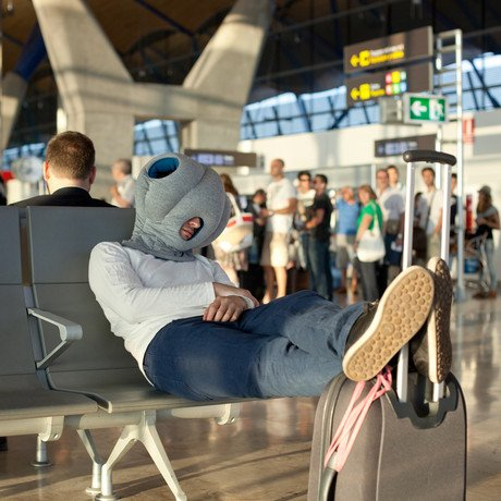 Ostrich Pillow // Blue