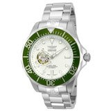 Invicta 13702 Men's Grand Diver Automatic Dive Silver Dial Stainless Steel Watch