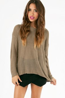 GLAM PATCHED SWEATER 40