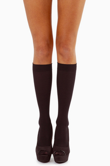 NAYELI OPAQUE KNEE HIGHS 8