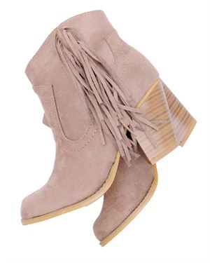 Charles Albert New Fringe Booties