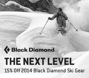 15% Off Black Diamond Ski Gear