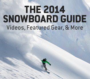 The 2014 Snowboard Guide