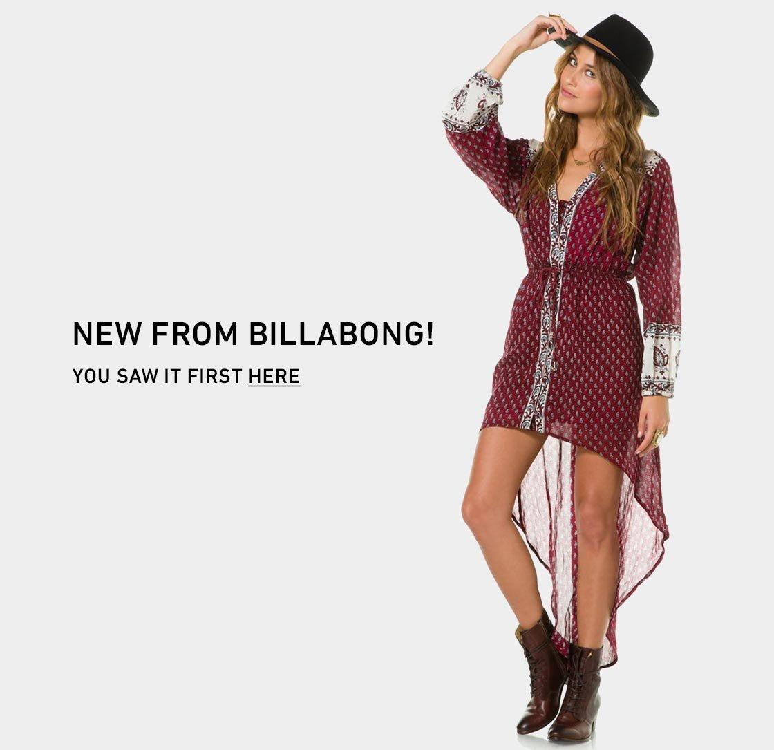 Shop New Billabong