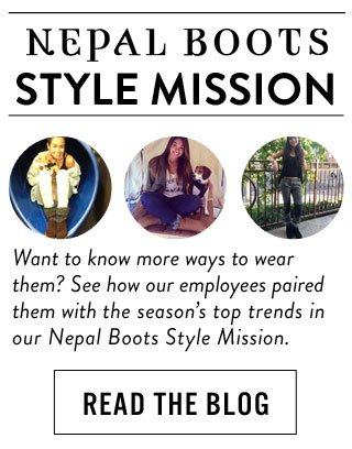 Nepal Boots style mission - Read the blog