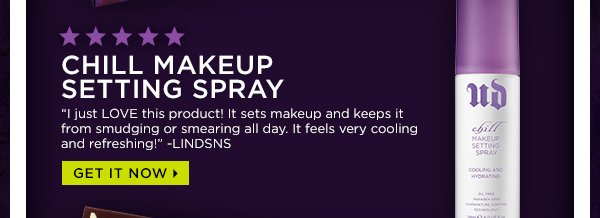 Chill Makeup Setting Spray - Get It Now >