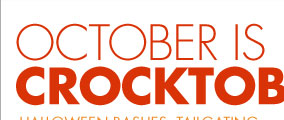 OCTOBER IS CROCKTOBER