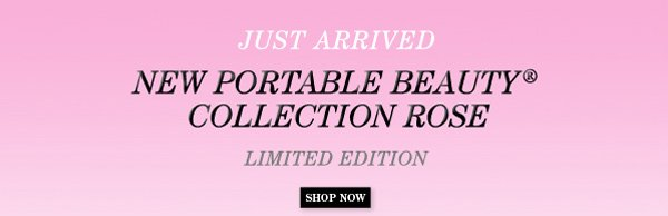 Just Arrived Portable Beauty Collection Rose