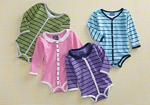 Cardigan Bodysuits for Baby