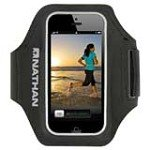 Nathan 4920NB SuperSonic Arm Band Carrier for iPhone 5, Black