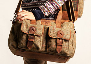 Shop NEW: The Harris Tweed Bag Collection