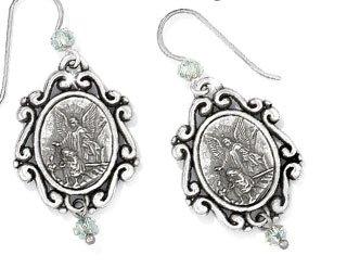 Devotion Angel Love French Wire Earrings