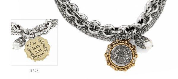 Devotion Cherub bracelet