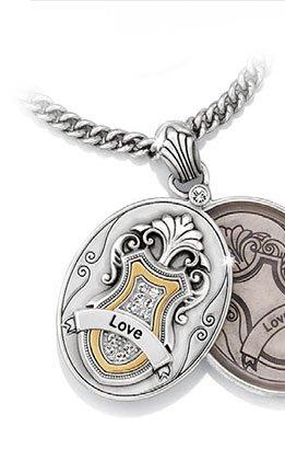 Devotion Love Locket necklace