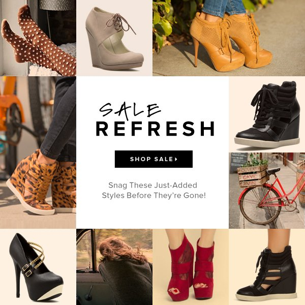 SALE REFRESH Snag These Just-Added Styles Before They're Gone! - - Shop Sale