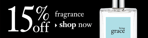 15% off fragrance shop now