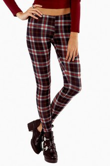 THE MORE I PLAID LEGGINGS 23