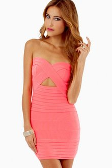 DIANA STRAPLESS BODYCON DRESS 39