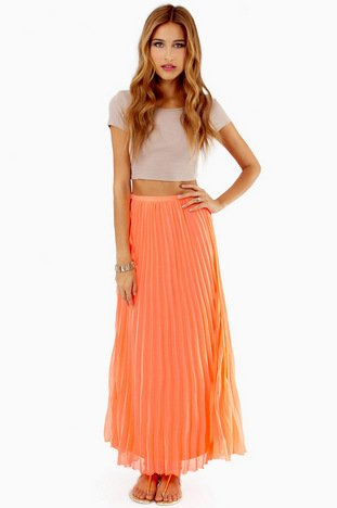 LOST IN FOLDS MAXI SKIRT 36
