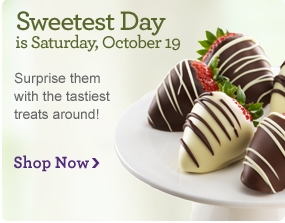 How Sweet It Is! Sweetest Day is October 19th. Surprise them with the tastiest treats around! Stop Now