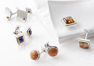 Ike Behar: Cufflinks & Tie Bars