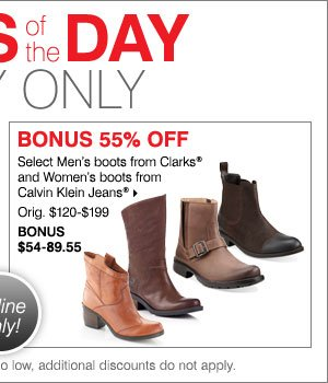 Deals of the Day - Today Only! BONUS save  50% on all Franco Sarto styles.