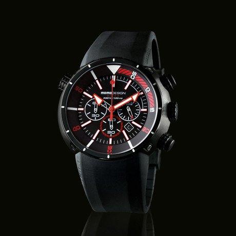 Black Diver Pro // Red Accent