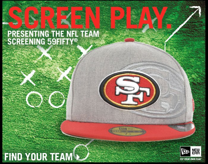 New NFL Arrival - The Team Screening 59FIFTY - Shop Now!