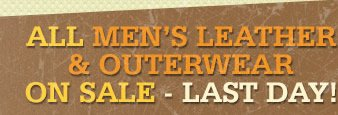 All Mens Leather and Outerwear on Sale