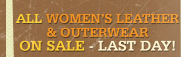 All Womens Leather and Outerwear on Sale